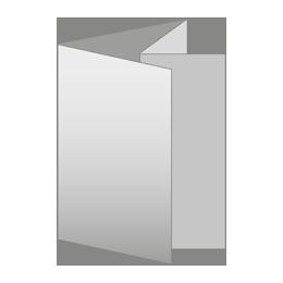 Pliegue paralelo doble